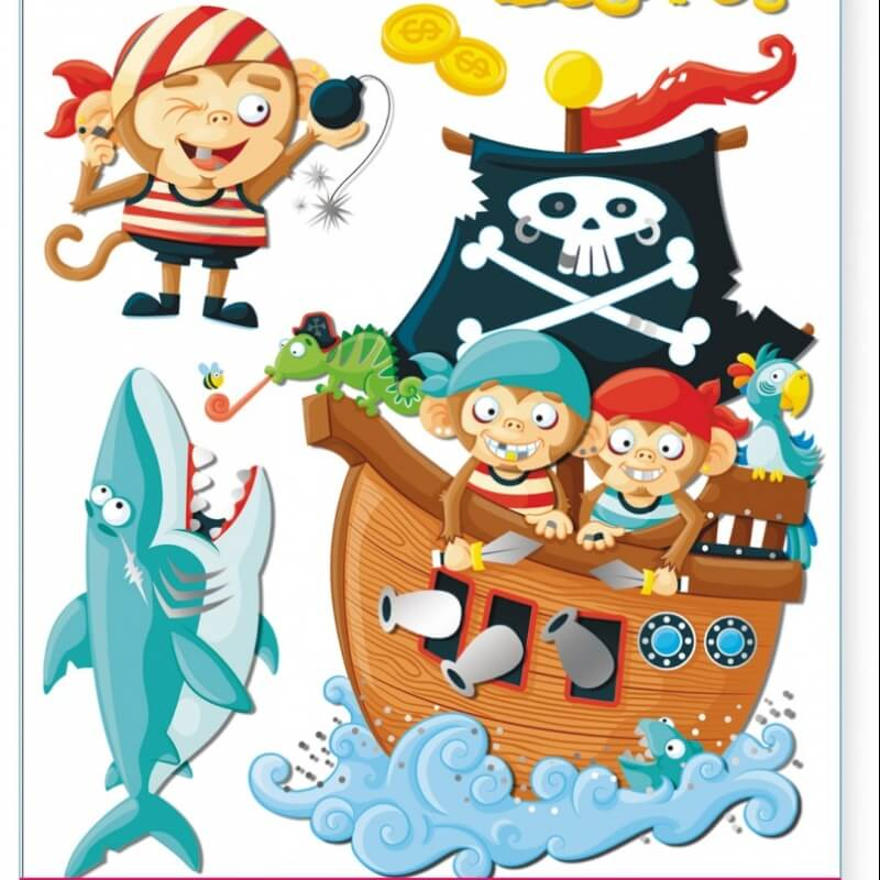 Deco Stickers Pirates