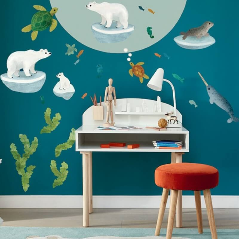 Ocean Antics Wall Stickers