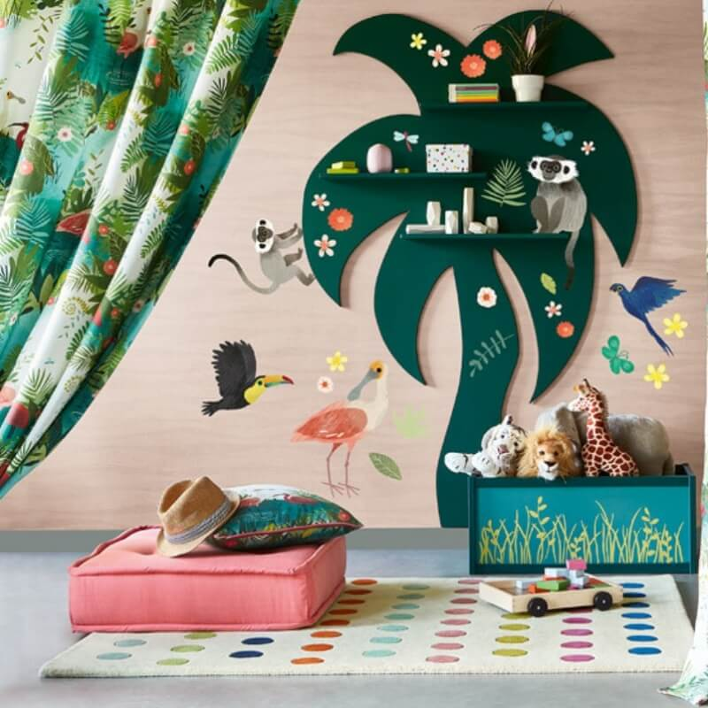 Jungle Jumble Wall Stickers